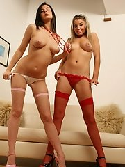 Naughty British teens play kinky nurse and patient
